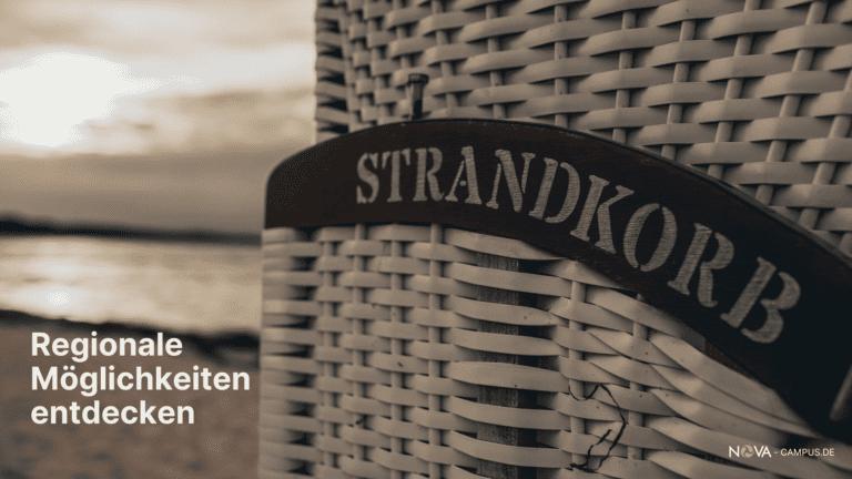 Strandkorb an der Ostsee - Unternehmen in der Region kennenlernen.